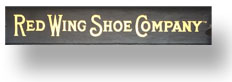Red Wing Shoe Company shop sign