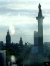 View of Nelsons column in London